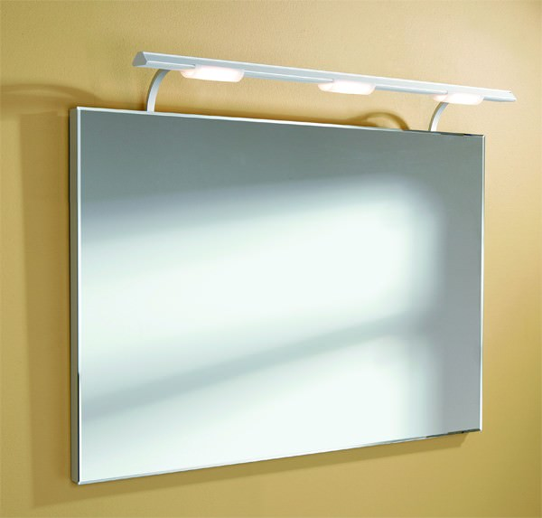 Large Image of HIB Sidney Illuminated Bathroom Mirror - 71150095