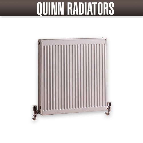Quinn Slim Line Double Panel Compact Radiator K22 1100 X 400mm