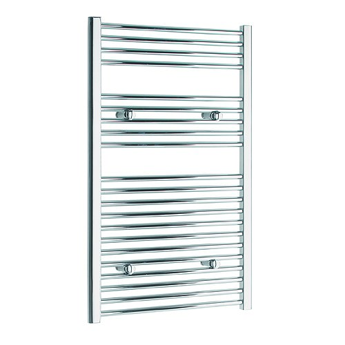 Large Image of Tivolis Heated Towel Rail Radiator Straight 500 x 1000mm