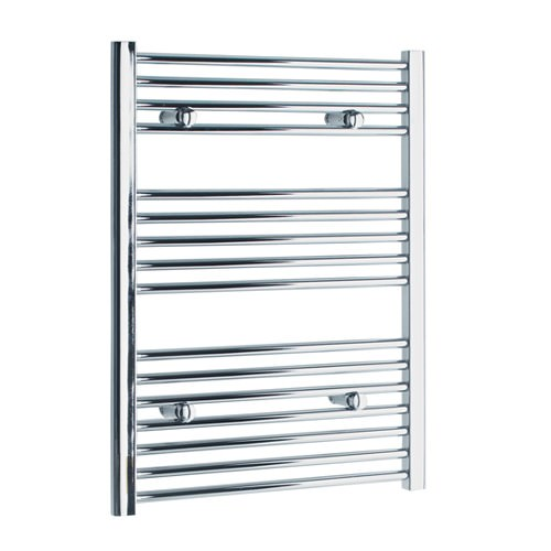 Large Image of Tivolis Heated Towel Rail Radiator Straight 500 x 800mm