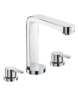 Image of Sagittarius Plaza 3 Holes Bath Filler Tap - PL-111-C