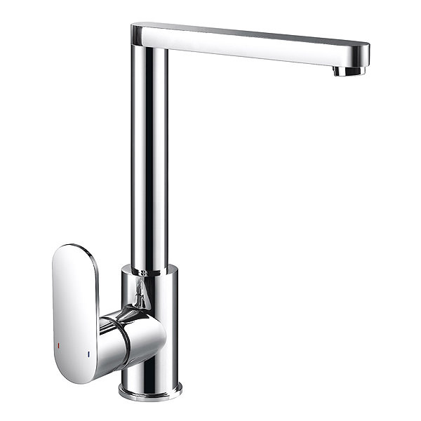 Large Image of Sagittarius Metro Side Lever Kitchen Sink Mixer Tap - MT-155-C