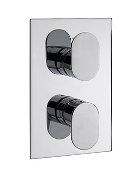 Sagittarius Plaza With 2 Way Diverter Thermostatic Valve | PL-177-C
