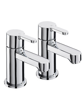Sagittarius Plaza Bath Taps Pair | PL-102-C
