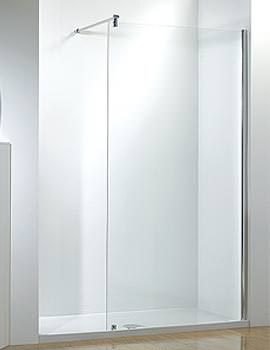Kudos Ultimate 1500mm LH Recess Walk-In Enclosure With Tray And Waste