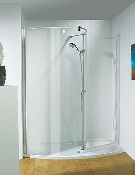 Ultimate 1400mm RH Curved Panel Walk-In Package Recess