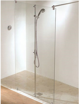 Ultimate 1200mm Double Entry Wetroom Panel - 5WF120
