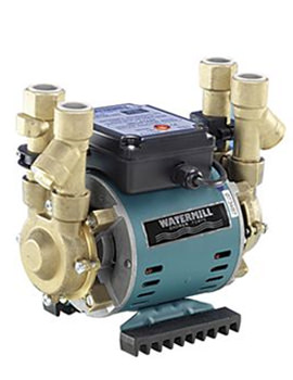 Amazon STN-2.0 B Positive Twin Brass Shower Pump
