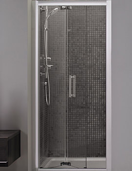 Related Ideal Standard Synergy Infold Shower Door 900mm - L6208EO