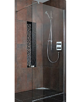Related Ideal Standard Synergy Wetroom Panel 800mm - L6222EO