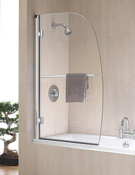 Hydr8 Sail Panel Bath Screen 1500 x 950mm