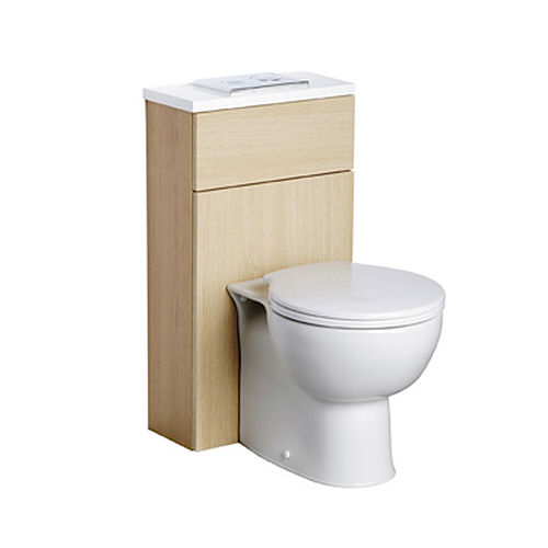 Large Image of Ideal Standard Space WC Unit With Cistern 450mm - E4641