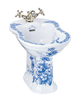 Imperial Oxford 1 Tap Hole White Bidet 540mm - OX1BI11030