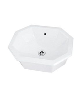 Astoria 490mm Inset Basin - AS1IB01030