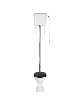 Imperial Astoria Deco WC Pan And High Level Cistern - AD1WC01030
