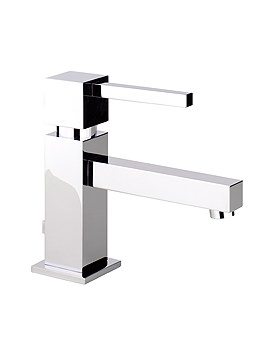 Abode Zeal Single Lever Basin Mixer Tap With Pop-up Waste - AB1271
