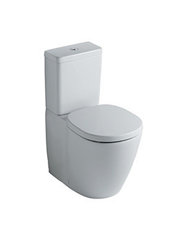Concept Close Coupled Back-to-Wall WC Toilet And Cube Cistern -E794101