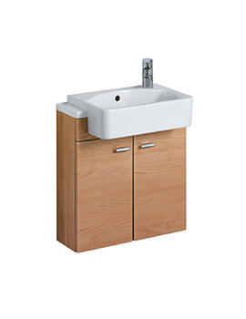Ideal Standard Concept Slimline Semi countertop Vanity Unit 600mm - E6460