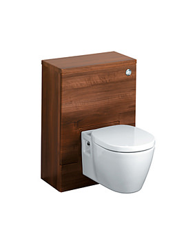 Image of Ideal Standard Concept 500 x 300mm WC Unit American Oak - E6453SO