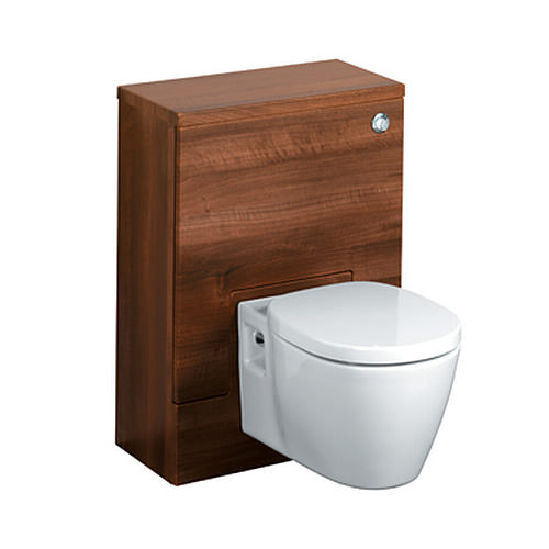 Large Image of Ideal Standard Concept 500 x 300mm WC Unit American Oak - E6453SO