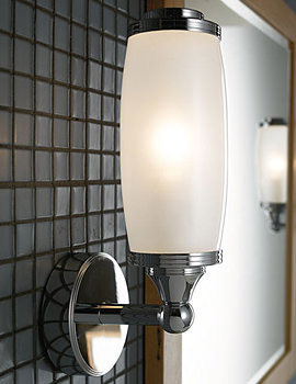 Toledo Single Wall Light And Glass Shade - XLP1000600