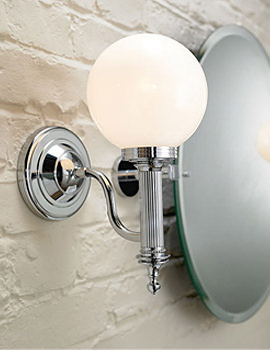 Cadiz Wall Light With Glass Shade - XLP1000200
