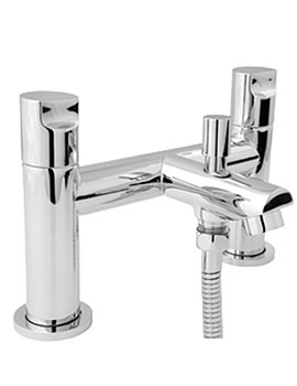 Ikon Deck Mounted Bath Shower Mixer Tap - IKO106