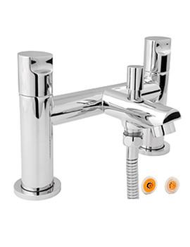 Ikon Bath Shower Mixer Tap With 8 Liter Per Min Regulator