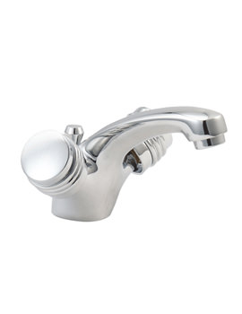 Solerno Mono Basin Mixer Tap With Pop Up Waste - SOLE113
