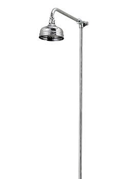 Rigid Riser With 5 Inches Flowmaster Shower Head
