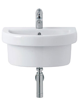 Image of Ideal Standard Wash point Apron Fronted 1 Tap Hole Washbasin | IS0168