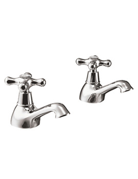 Image of Ideal Standard Kingston Basin Taps Pair - E6045AA