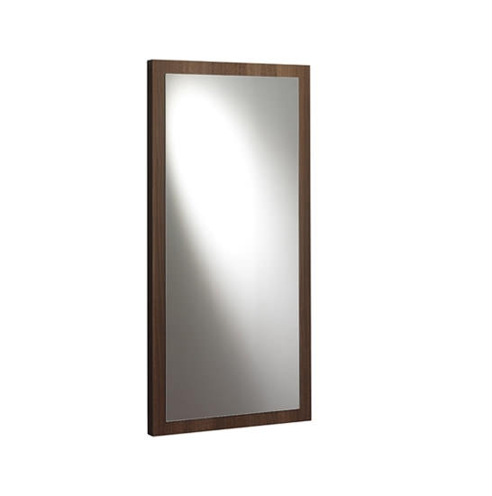Large Image of Bauhaus Elite Bathroom Vanity Mirror 460mm - EL4696WT