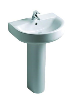 Ideal Standard Concept Arc 450mm 1 Tap Hole Handrinse Basin