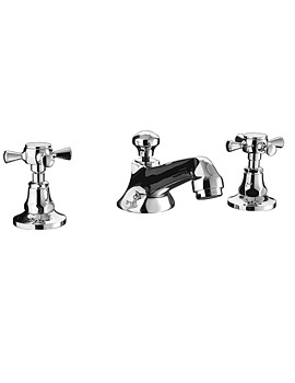 Cou 3 Hole Basin Mixer Tap - ZXT6011100