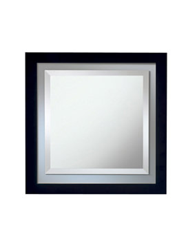 Imperial Linea Mirror With Opaque Feature Glass Border - XG3900020O