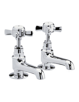 Series Traditional Pair Of Basin Taps