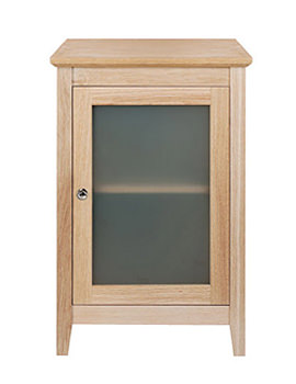 Imperial Esteem Oak Side Unit Wooden Or Frosted Glass Door XW33100020W