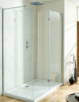 Design View Walk In Easy Access Shower Enclosure 1400mm