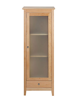 Esteem Tall Unit With Frosted Glass Door - XW34000020