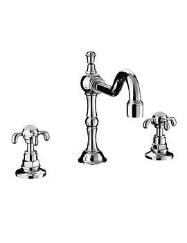 Imperial Lierre 3 Hole Basin Mixer Tap - ZXT6035100