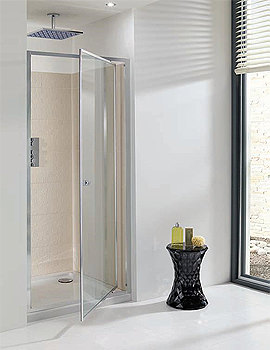 Edge Pivot Shower Door 700mm - EPDSC0700