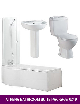 Lauren Athena Complete Bathroom Set