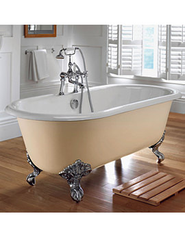 Bentley Cast Iron 1700mm Bath With Cast Iron Feet - ZCI000003S