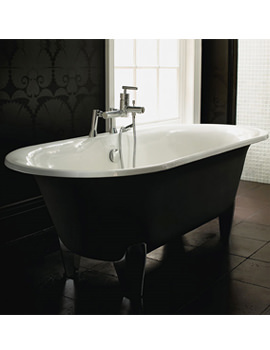 Plaza Cast Iron Double Ended Bath 1770mm ZCI000103S