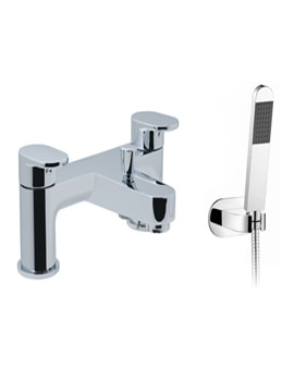 Life 2 Hole Deck Mounted Bath Shower Mixer Tap