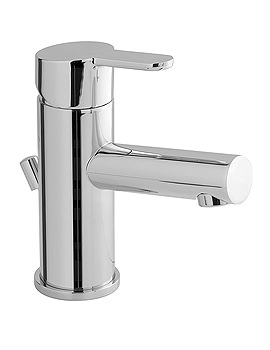 Sense Mono Basin Mixer Tap With Pop-Up Waste - SEN-100