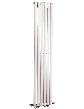 Revive 354 x 1800mm White Single Panel Vertical Radiator