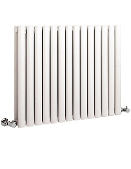 Hudson Reed Revive 836 x 635mm Double Panel White Designer Radiator