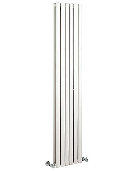 Revive 354 x 1800mm White Double Panel Vertical Radiator